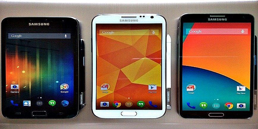 three google smartphones