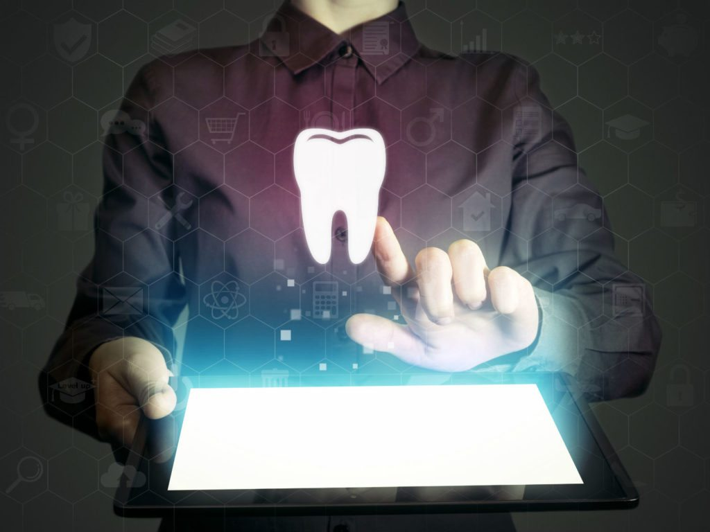 floating tooth touch screen