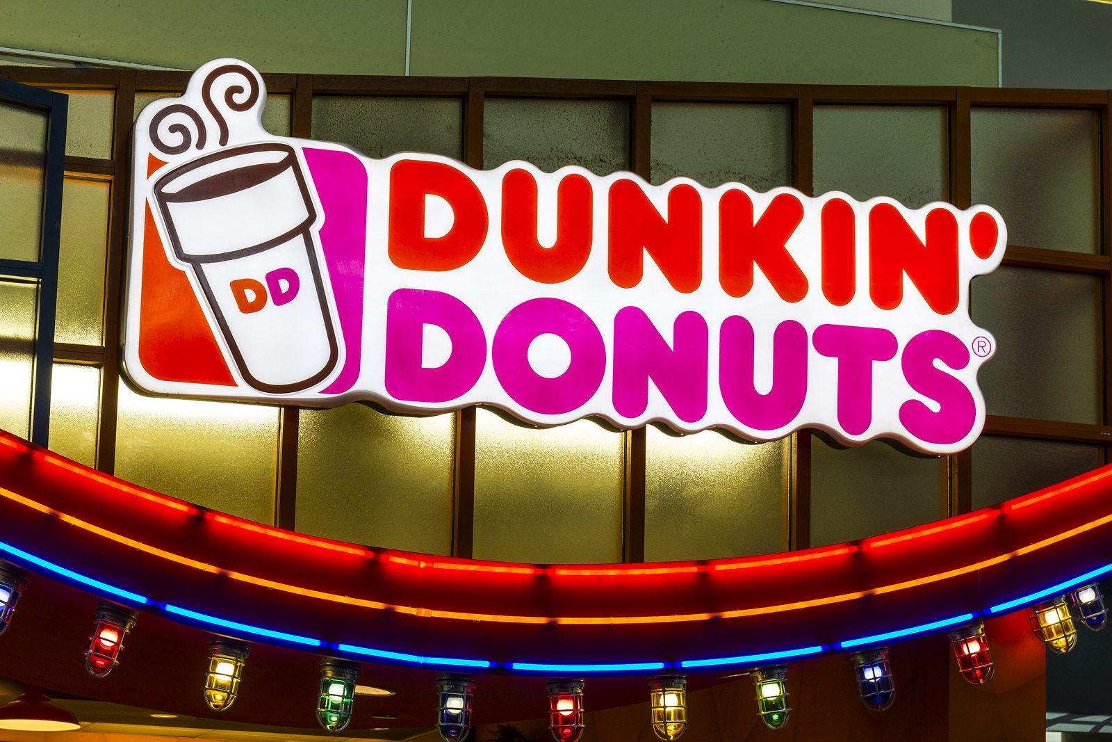 Houston - Circa December 2016: Dunkin' Donuts Retail Location. Dunkin' is America's favorite every day all-day stop for coffee and baked goods IV