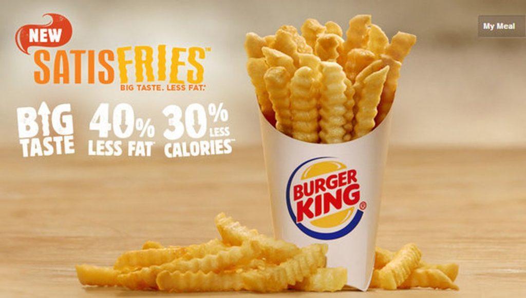 Burger King Satisfries Marketing Failure