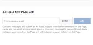 Managing Roles in FB - Step 4