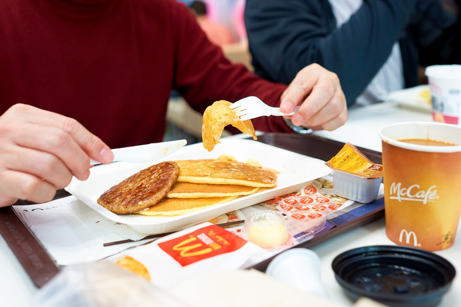 McDonald's breakfast marketing all day