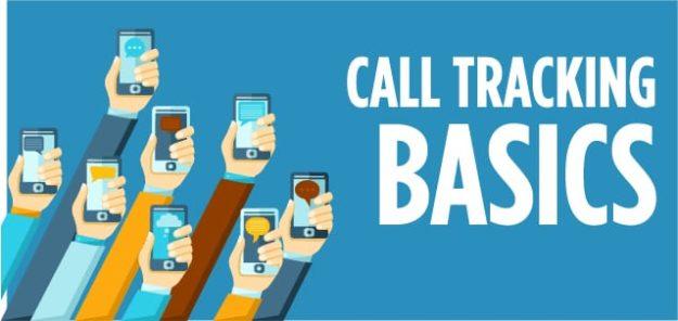 call tracking basics illustration customer phone calls graphic